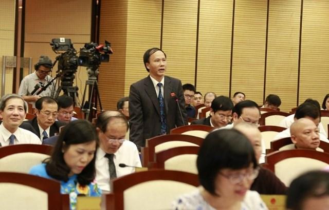 Đại biểu Nguyễn Hoài Nam.