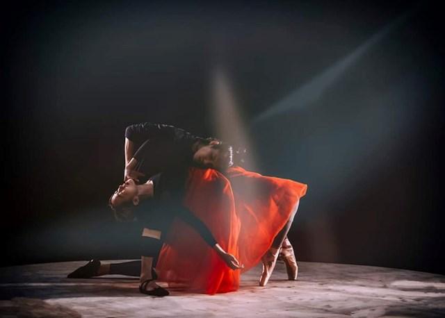 Một cảnh trong vở ballet Kiều.