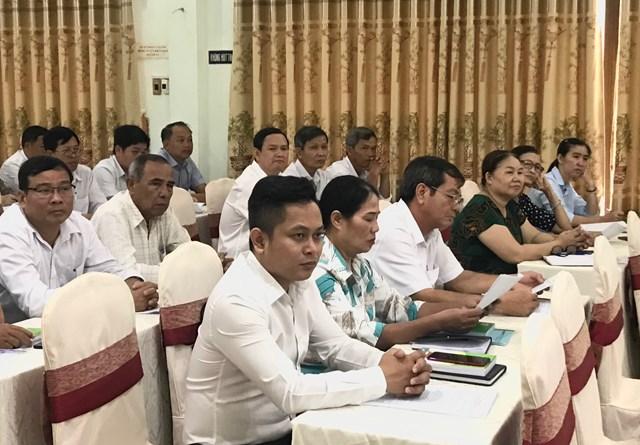 Các đại biểu tham gia Hội nghị tập huấn.