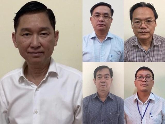 Ông Trần Vĩnh Tuyến - Phó Chủ tịch UBND TPHCM cùng 4 bị can vừa bị khởi tố liên quan sai phạm vụ SAGRI