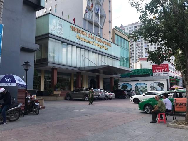 Khách sạn Thượng Hải nơi xảy ra vụ việc đau lòng nói trên.