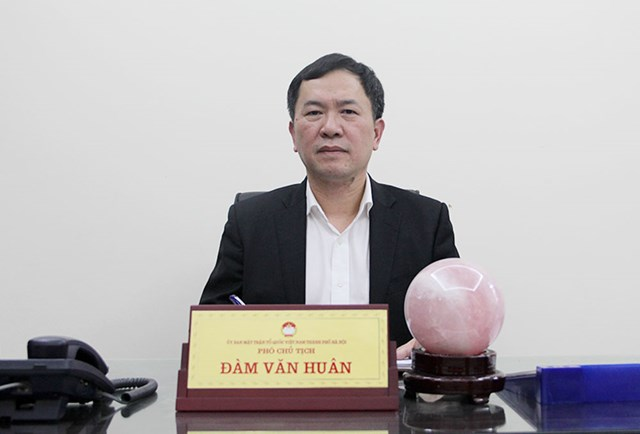 Ông Đàm Văn Huân.