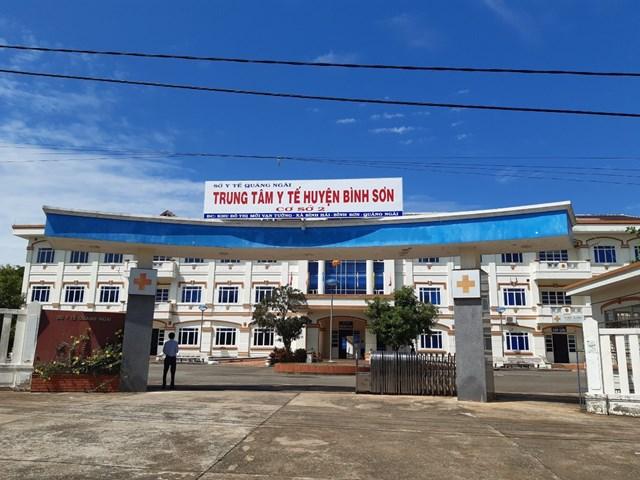 Nơi điều trị BN nhiễm Covid-19 ở Quảng Ngãi.