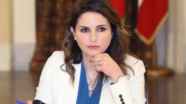 Bà Lebanon Manal Abdel Samad. (Nguồn: AP).