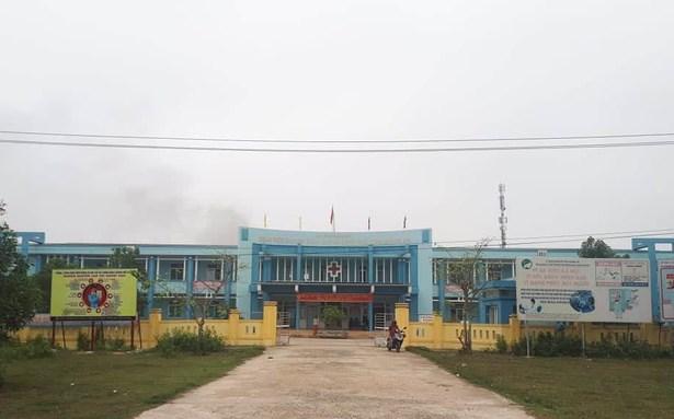 Bệnh viện chuyên khoa Lao và bệnh Phổi tỉnh Quảng Trị nơi đang điều trị và cách ly các bệnh nhân mắc Covid-19.Ảnh L.Chung.