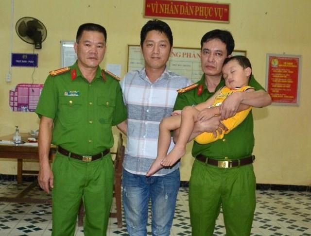 Cháu bé được giải cứu thành công tại Tuyên Quang.