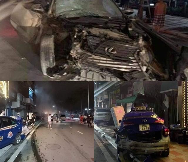 Hiện trường vụ tai nạn ngày 19/8 tại Hải Phòng.