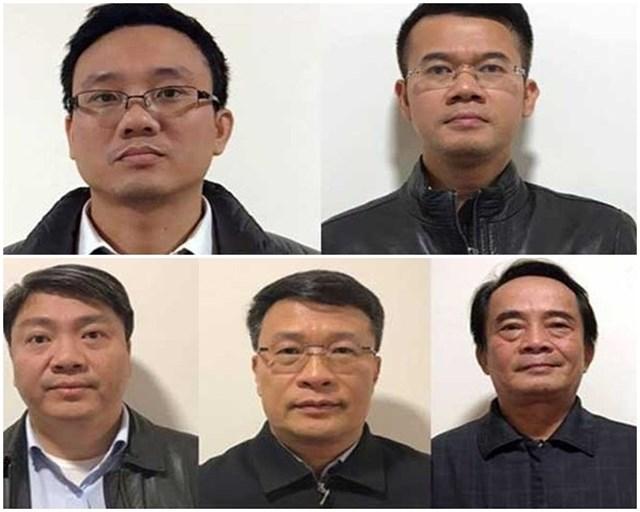 Các bị cáo trong đại án BIDV.