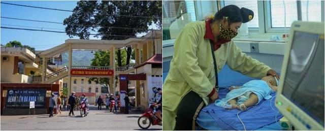 Bệnh viện Đa khoa tỉnh Sơn La và một trường hợp đang được điều trị sau khi tiêm phòng vaccine Combe Five.