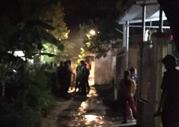 Hiện trường vụ cháy khiến 1 người tử vong