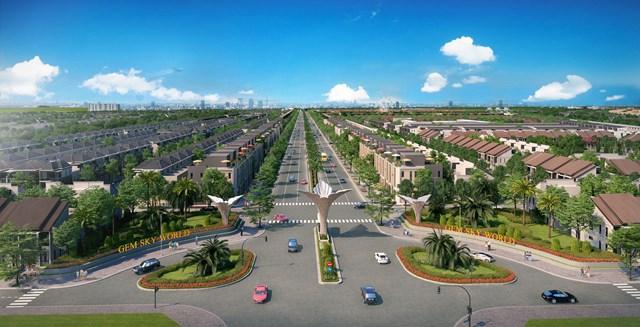 Là dự án chủ lực của Tập đoàn Đất Xanh trong năm 2020, Khu đô thị thương mại giải trí Gem Sky World rộng hơn 92ha tại Long Thành, Đồng Nai cung ứng ra thị trường hơn 4.000 sản phẩm.