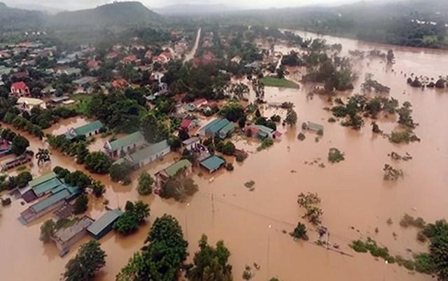Các tỉnh miền Trung thiệt hại nặng về người và tài sản.