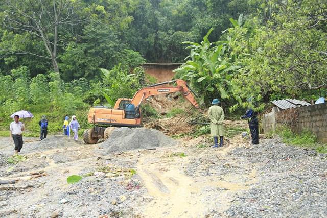 Quảng Ninh: Nước lũ đã cơ bản rút nhưng nguy cơ sạt lở đất còn rất cao - Ảnh 1