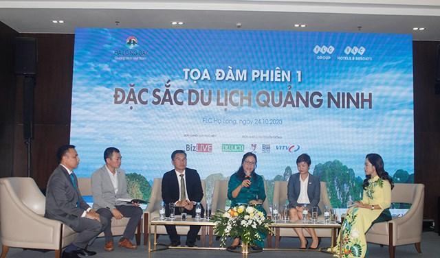"""Tọa đàm """"Du lịch Quảng Ninh: Nội lực miền di sản"""" bàn về các giải pháp kích cầu cụ thể và hiệu quả cho thị trường Quảng Ninh trong bối cảnh mới."""