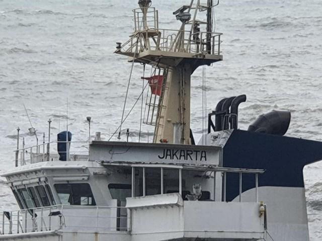 Tại thời điểm phát hiện, trên khoang thủy thủ có ghi dòng chữ Jakarta nhưng không có người.