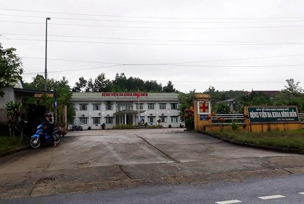 Bệnh viện đa khoa Bình Điền nơi 5 công nhân thủy điện đang điều trị.