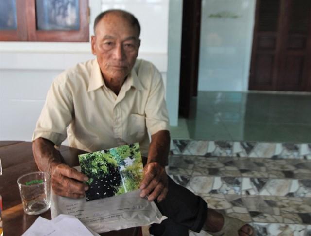 Ông Minh Ba nói về vến đề gây ô nhiễm của nhà máy.
