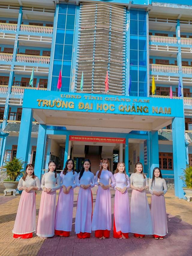 Một góc Trường Đại học Quảng Nam