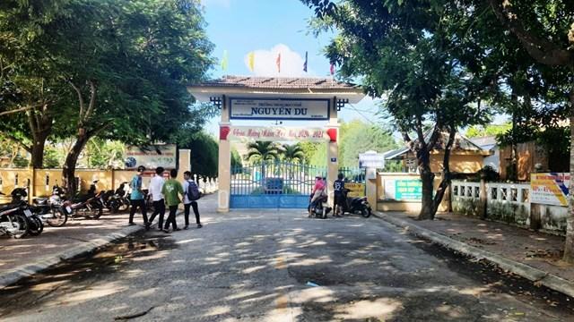 Trường THCS Nguyễn Du, TP Tam Kỳ.