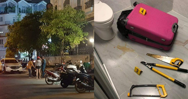 Hiện trường nơi xảy ra vụ án: khu dân cư Him Lam, khu phố 5, phường Tân Hưng, quận 7