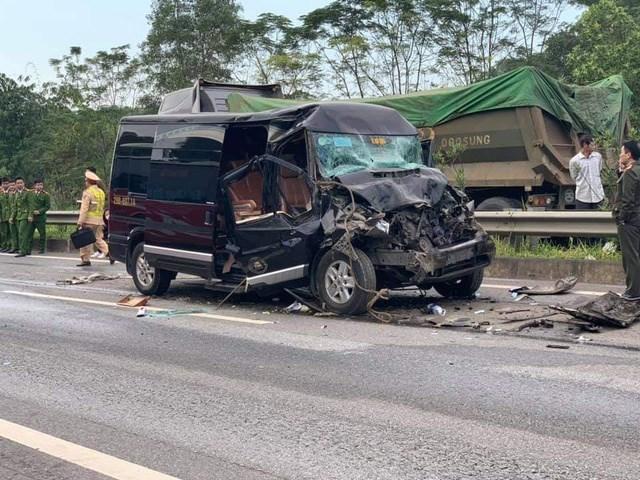 Vụ tai nạn kinh hoàng khiến nữ cán bộ Tỉnh ủy Yên Bái tử vong thương tâm.