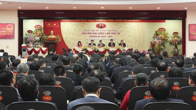 Đại hội Đảng bộ Công Thương nhiệm kỳ 2020 -2025.