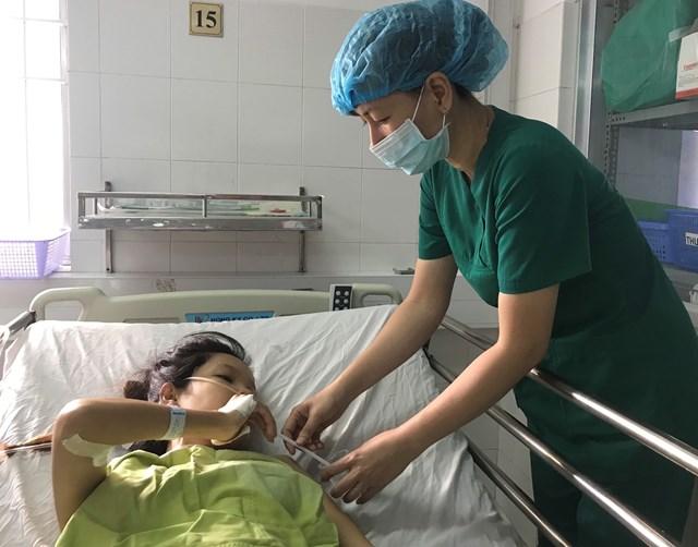 Hiện tại bệnh nhân Thuỳ đã hồi phục sức khoẻ, đang được tiếp tục theo dõi chăm sóc