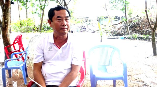 Đối tượng cầm đầu Nguyễn Ngọc Thuận.