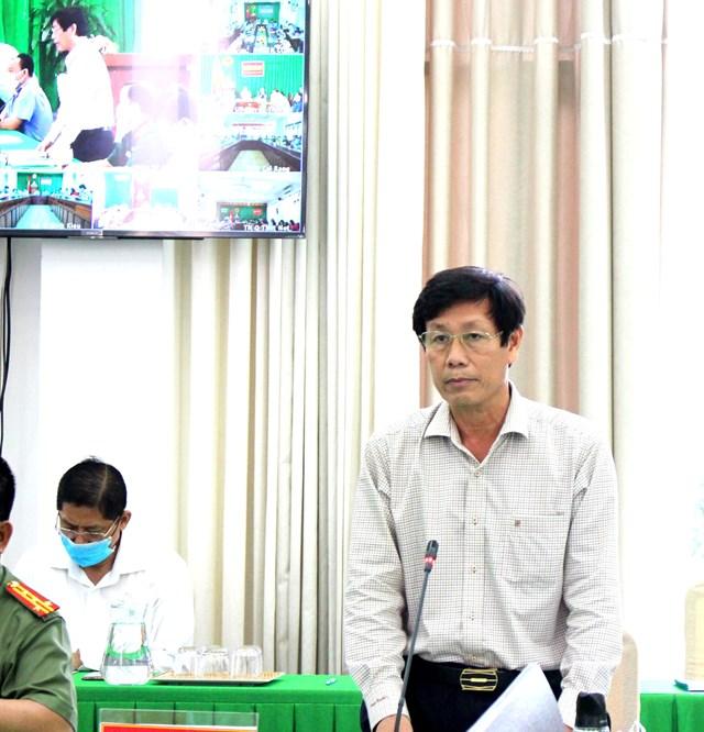 BSCK2 Cao Minh Chu, Giám đốc Sở Y tế TP Cần Thơ.