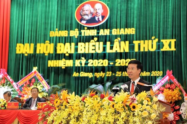 Ông Võ Văn Thưởng phát biểu chỉ đạo Đại hội.