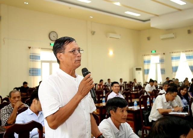 Cử tri huyện Cờ Đỏ kiến nghị lên đại biểu Quốc hội.