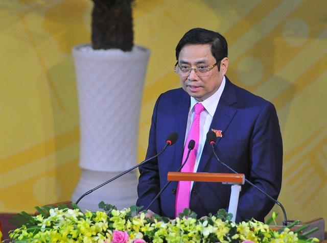 Ông Phạm Minh Chính phát biểu chỉ đạo Đại hội.