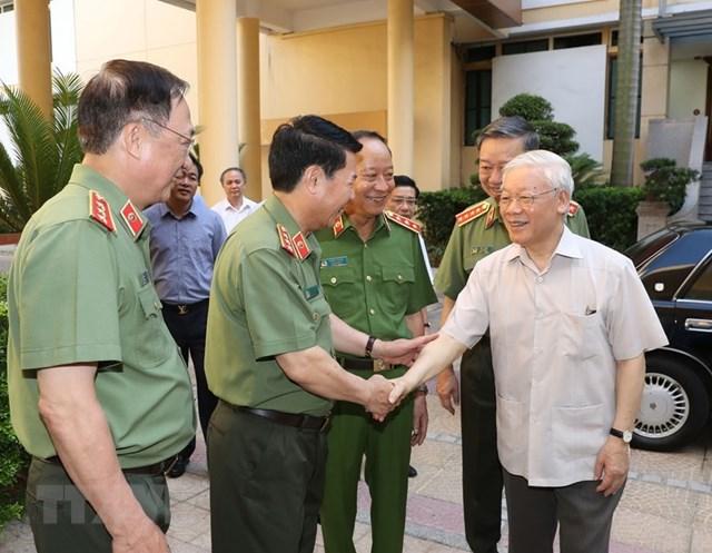 [ẢNH] Tổng Bí thư, Chủ tịch nước chỉ đạo Hội nghị Đảng ủy Công an Trung ương - Ảnh 1