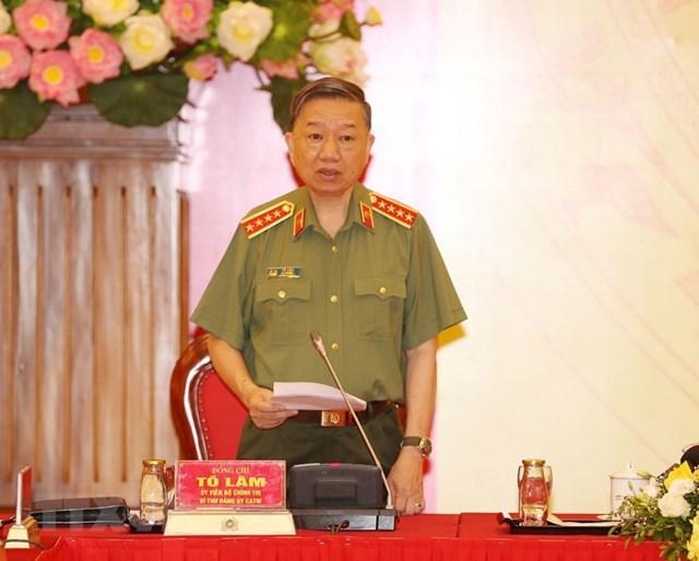 [ẢNH] Tổng Bí thư, Chủ tịch nước chỉ đạo Hội nghị Đảng ủy Công an Trung ương - Ảnh 2