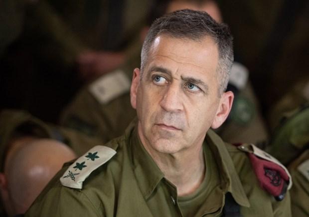 Tham mưu trưởng Quân đội Israel, Trung tướng Aviv Kochavi. (Ảnh: Wikimedia).