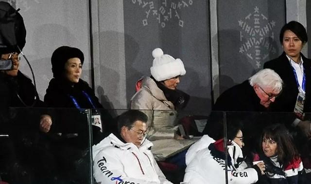 Năm 2018, Kim Yo-jong đã tham dự lễ khai mạc Thế vận hội mùa đông 2018 tại Pyeongchang, Hàn Quốc. Đây là lần đầu tiên từ khi Chủ tịch Kim Jong-un lên cầm quyền, một thành viên của Nhà nước Triều Tiên đến thăm Hàn Quốc kể từ sau Chiến tranh Triều Tiên.