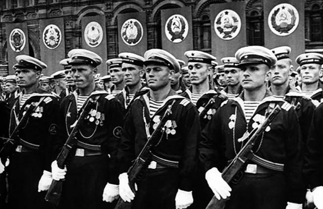 Hải quân Liên Xô.