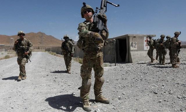 Lính Mỹ tuần tra tại Afghanistan năm 2018. Ảnh: Reuters.