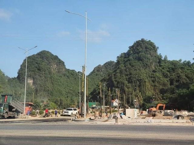 Dự án đã xảy ra các vi phạm trong công tác quản lý đất đai.