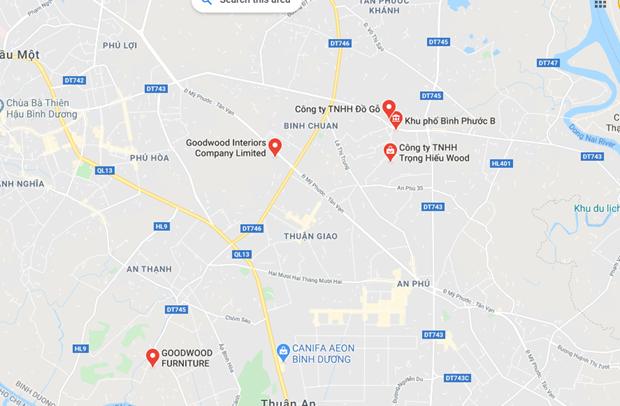 Nơi xảy ra vụ việc. (Nguồn: Google Maps).