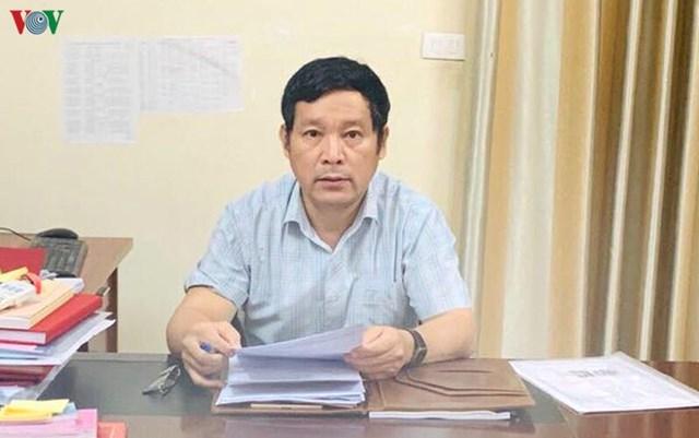 Ông Lê Quốc Khánh - Phó trưởng Ban thường trực Ban Tổ chức Tỉnh ủy Nghệ An.