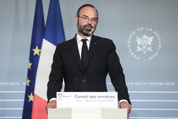 Thủ tướng Pháp Edouard Philippe. (Ảnh: AFP).