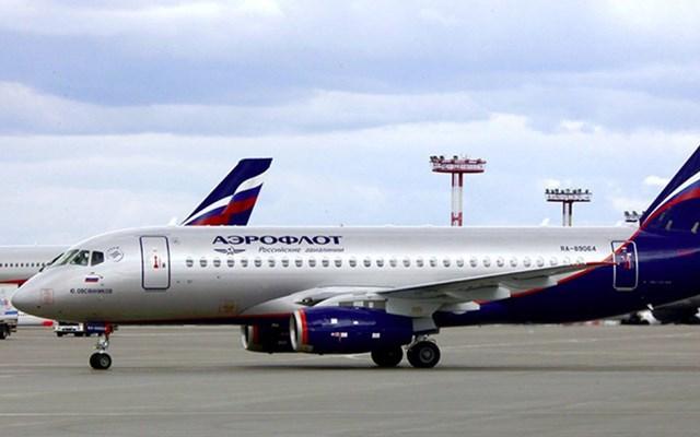 Máy bay của hãng hàng không quốc gia Nga. Ảnh: Aeroflot.