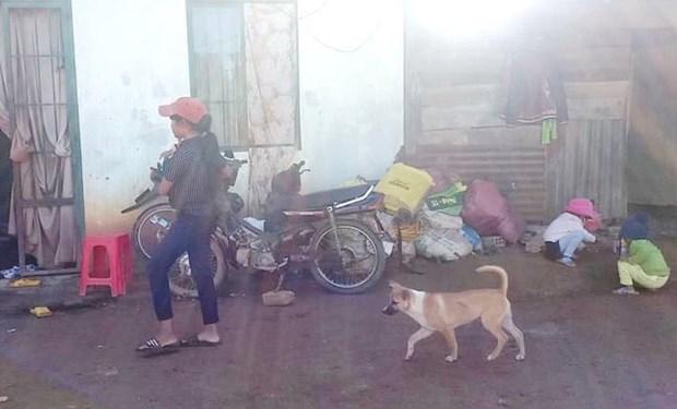 Gần chục người trong cùng thôn Đa Nung B (xã Đợ Đờn, Lâm Hà, Lâm Đồng) đều có triệu chứng bệnh viêm gan A. (Nguồn: nongnghiep.vn).