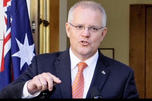 Thủ tướng Australia Scott Morrison (Ảnh: AFP).