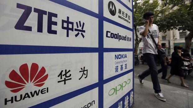 Huawei và ZTE thường xuyên bị chính phủ Mỹ đưa vào tầm ngắm. (Ảnh: Reuters).