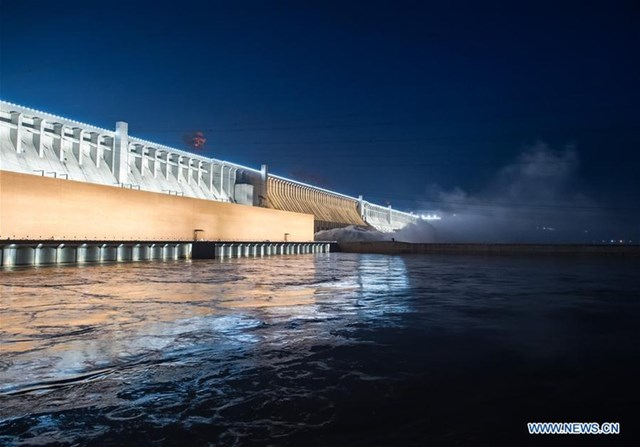 Đập Tam Hiệp nằm ở tỉnh Hồ Bắc của Trung Quốc.