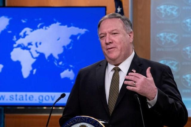 Ngoại trưởng Mỹ Mike Pompeo (Ảnh: Reuters).