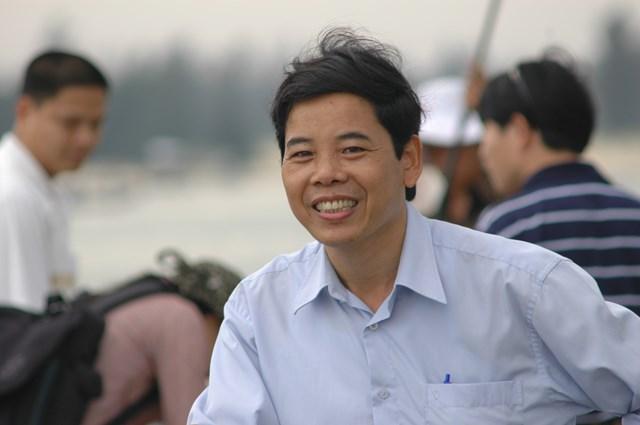 Nhà báo Trần Đăng Mậu Ảnh: Xuân An.