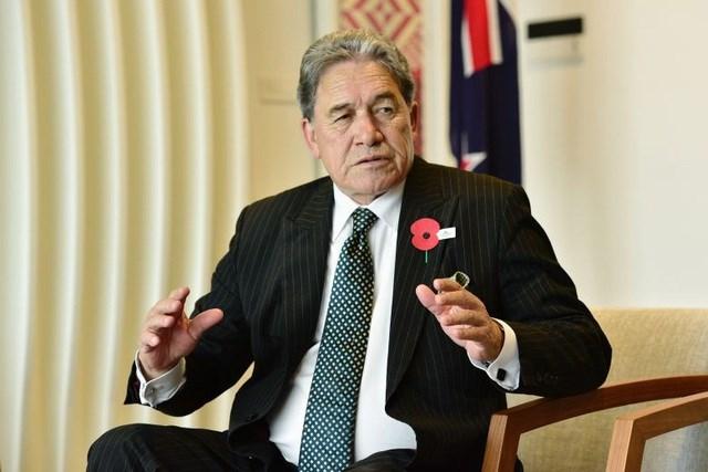 Phó Thủ tướng, Ngoại trưởng New Zealand Winston Peters (Ảnh: Straits Times).